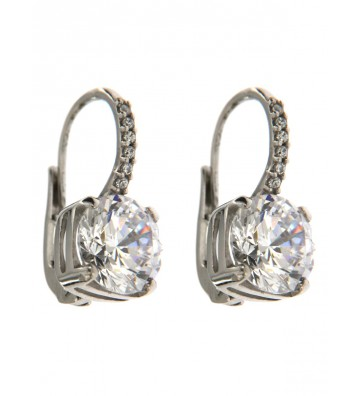 White gold lobe earrings 9...