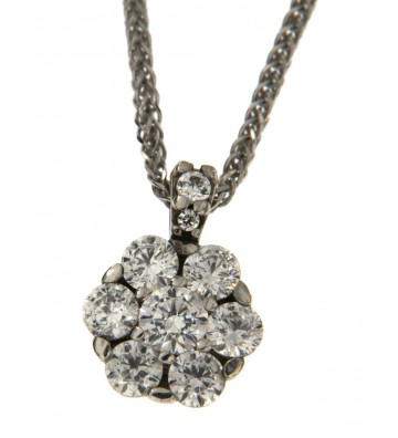 White Gold Necklace 9 Kt...