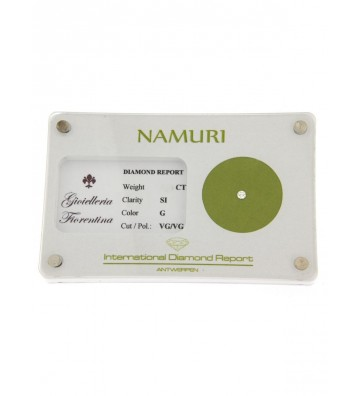Blister di Diamante Namuri Events 0,16 Ct, Colore G e Purezza SI NAMURIGSI16