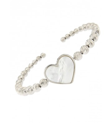 Rigid bracelet in silver...